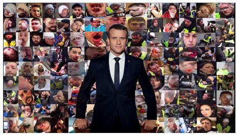 Macron et sa clique font une guerre quotidienne impitoyable aux Français