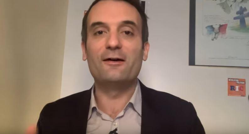 Covid : Florian Philippot dénonce le plan délirant de l'Europe