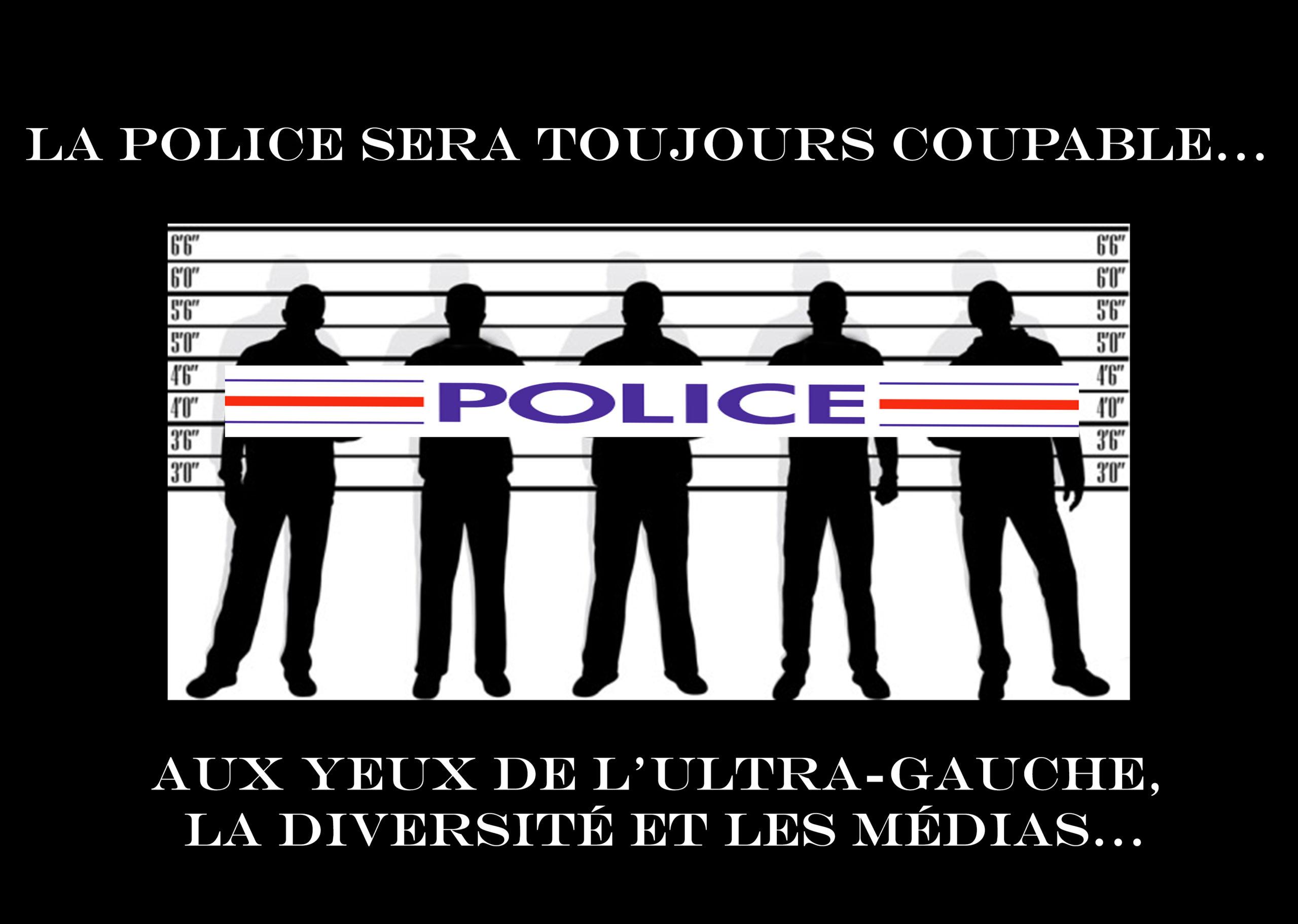 Étrange pays que la France, où les voyous agressent les policiers