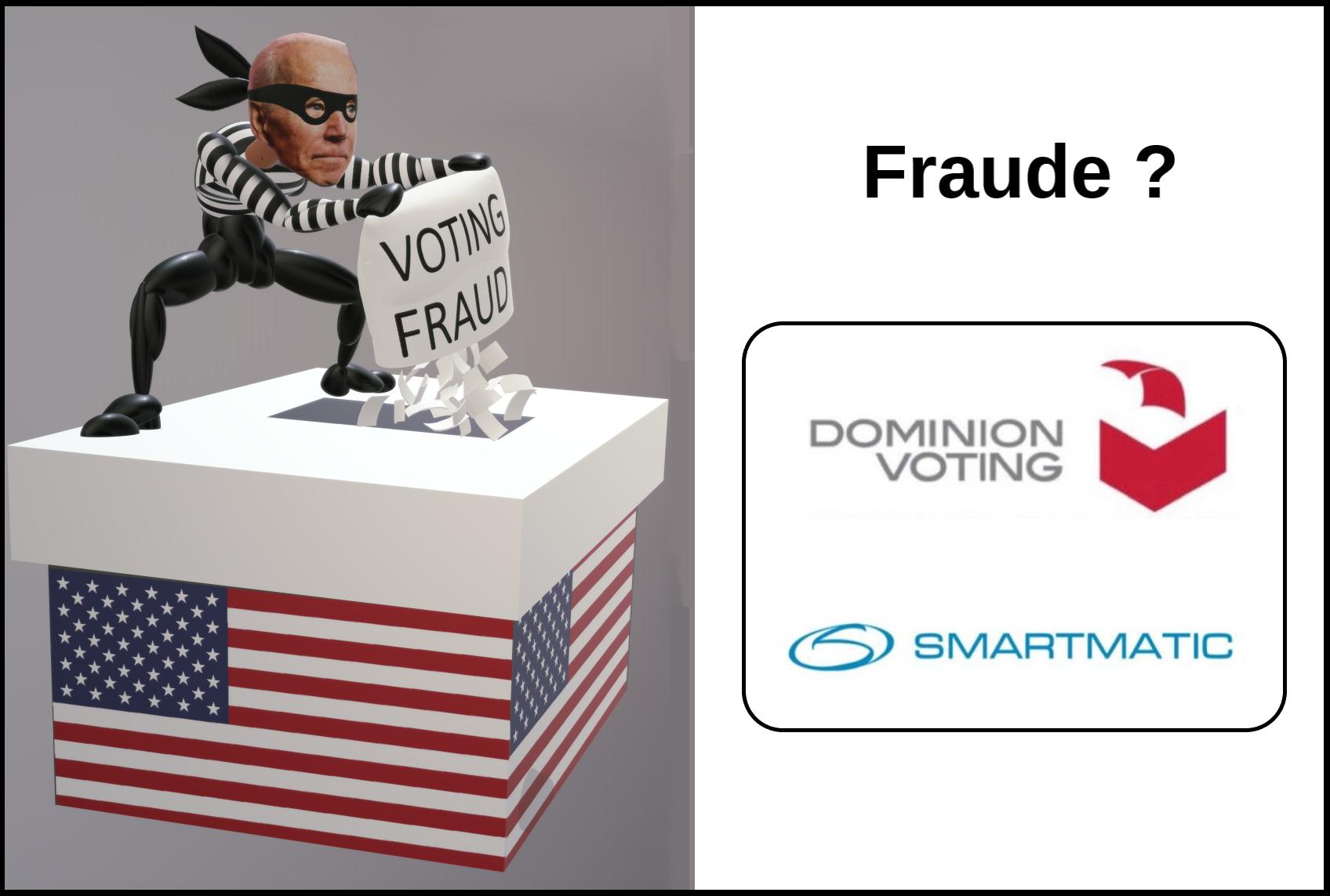 Fraudes US: incroyables révélations sur les machines à voter Dominion!