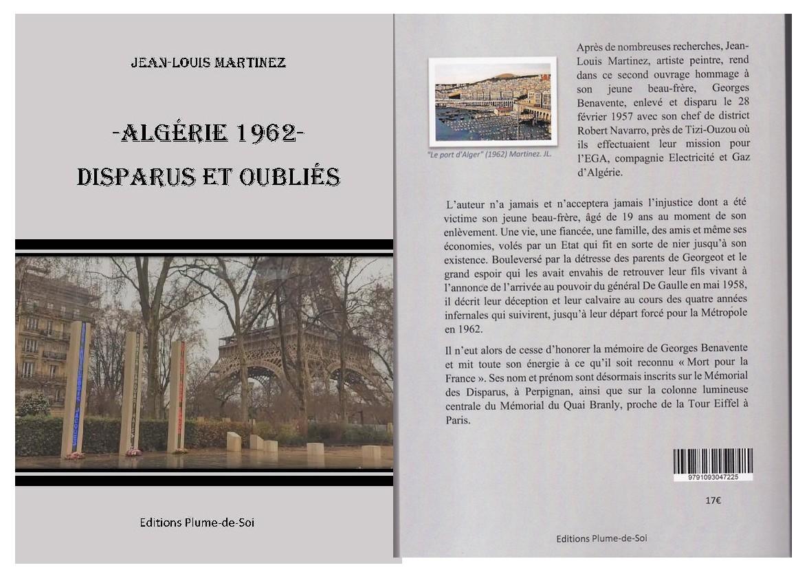 Algérie 1962 – Disparus et oubliés, par Jean-Louis Martinez