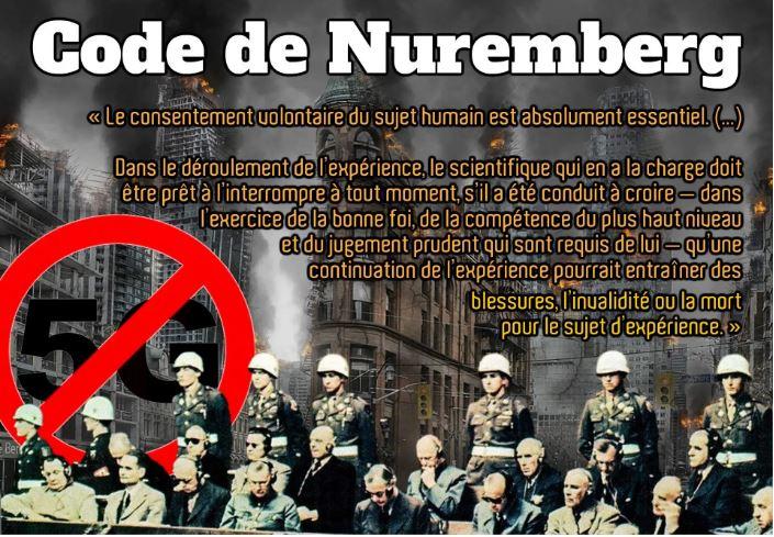 Israël accusé d'avoir violé le Code de Nuremberg