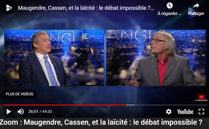Débat Cassen-Maugendre : la laïcité ne nous protège pas de l'islam