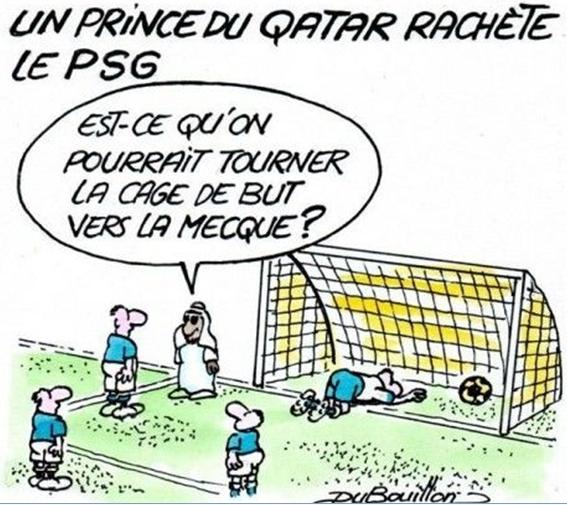 Le football français, un instrument de la conquête musulmane