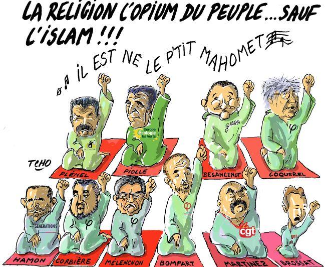 L'islam bientôt religion d'État, vers le christianisme des caves ?