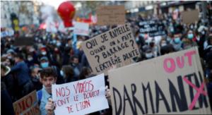 Article 24: beaucoup de bruit pour rien, et Macron se couche !