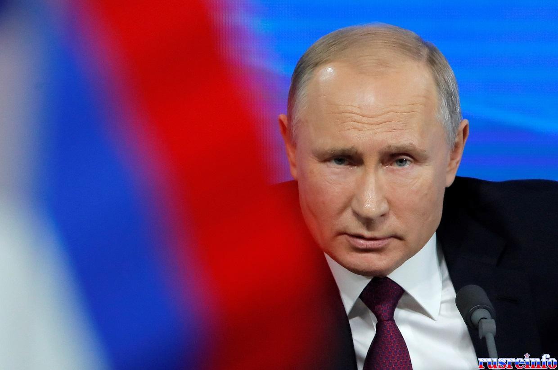 Offensive générale contre Vladimir Poutine