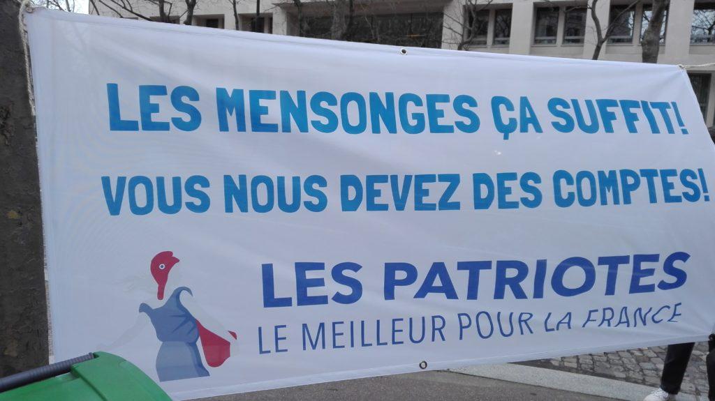 J'étais à Paris avec Florian Philippot : vive le virus de la vie, liberté !