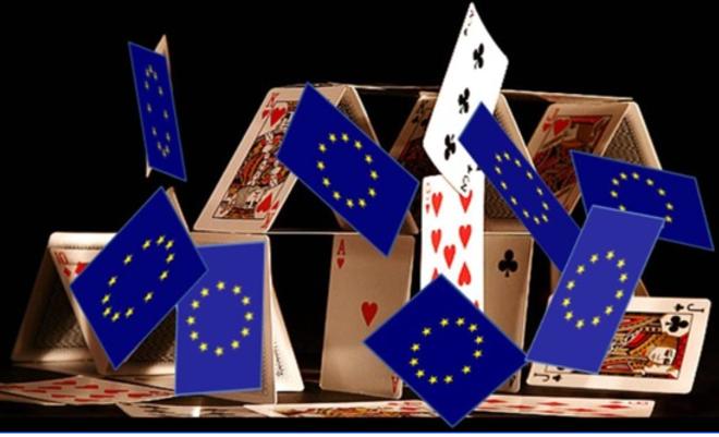 Et si l'UE s'effondrait, tel un château de cartes, «grâce» au virus?