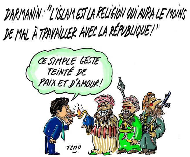 L'islam n'attaque pas la République, il agresse la France, M. Darmanin !