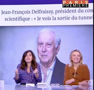 """Quand Sandrine Sarroche habille """"Delfraichi"""" pour l'hiver !"""