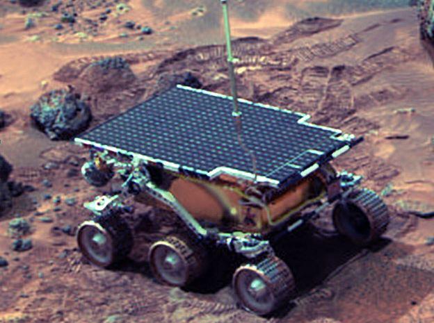 A-t-on déjà roulé sur Mars?