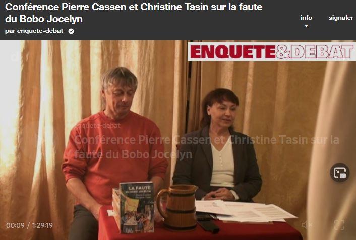 Huit ans plus tard, j'ai réécouté une conférence de Pierre et Christine…