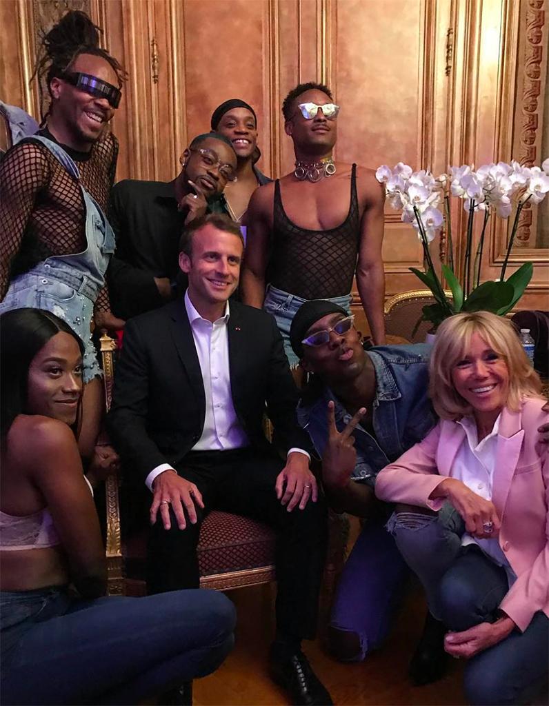 Avec Macron, l'Élysée transformé en cage aux folles