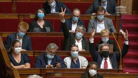 Francis Lalanne découvre enfin que les Insoumis sont des imposteurs masqués