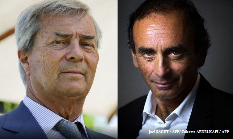 Macron, soutenu par le CSA et ses journaleux, a déclaré la guerre à Bolloré-Zemmour
