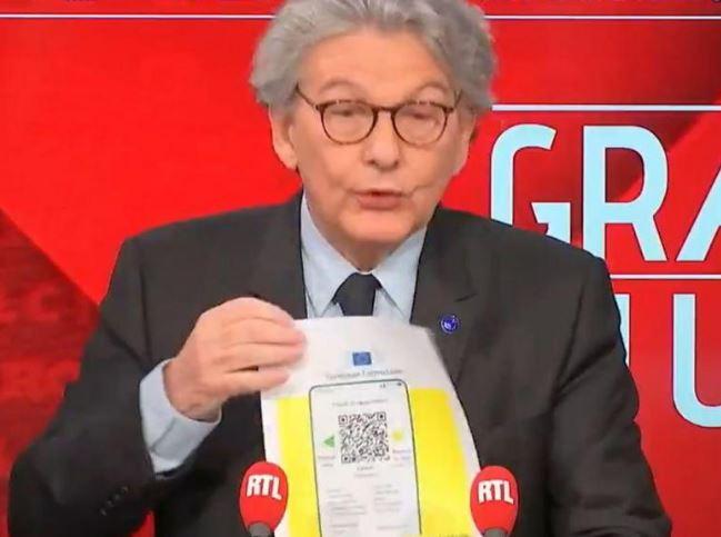 Vacciné au Brésil, confiné dix jours en France, merci, Thierry Breton !