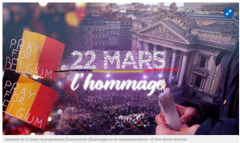 Commémoration des attentats de Bruxelles : révoltant !