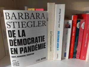 """""""De la démocratie en Pandémie"""", le diagnostic de Barbara Stiegler"""