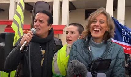 Alexandra Henrion-Caude et Lalanne chantent Le Temps de Cerises