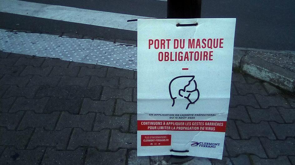 Clermont-Ferrand : J'étais à la manif des Patriotes contre la coronafolie