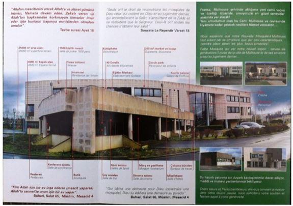 Après Strasbourg, une prochaine Grande Mosquée turque à Mulhouse ?