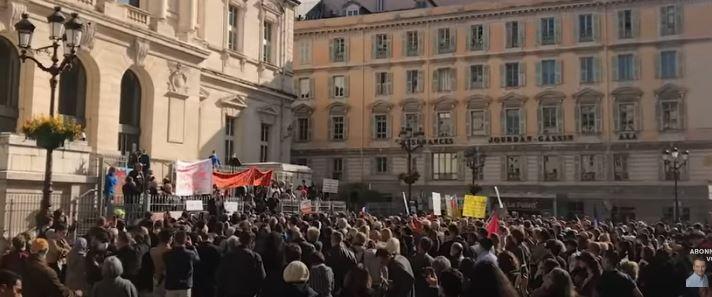 Nice : Mobilisation historique des Patriotes contre la tyrannie sanitaire