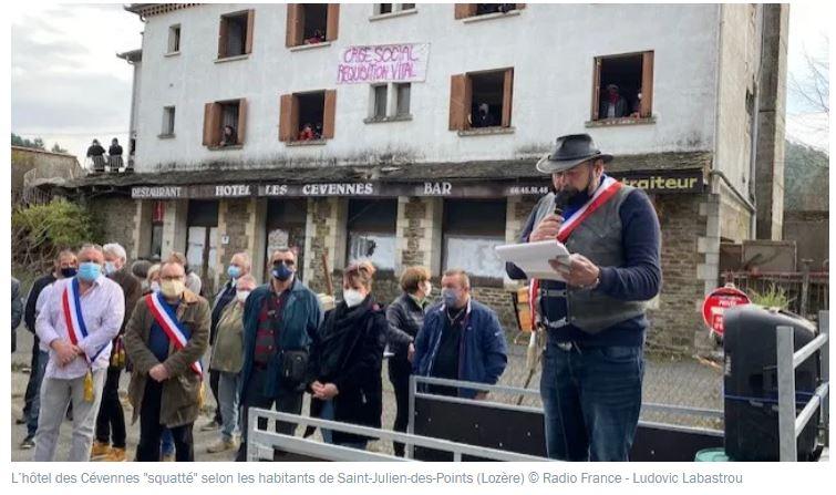 Squat de Saint-Julien-des-Points: les provocations continuent