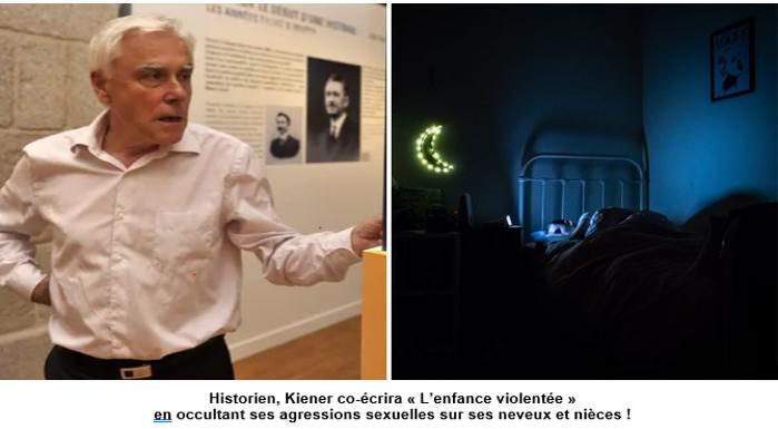 Michel Kiener : enseignant, historien, élu socialiste, LDH, et pédophile !