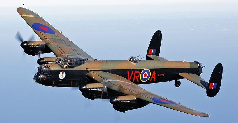 Aviation : hommage à l'épopée du Lancaster PB 265