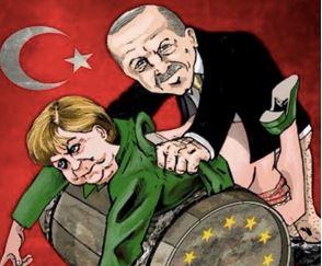 Qu'est-ce qu'il doit se marrer, Erdogan, en baisant l'Europe… et la France !