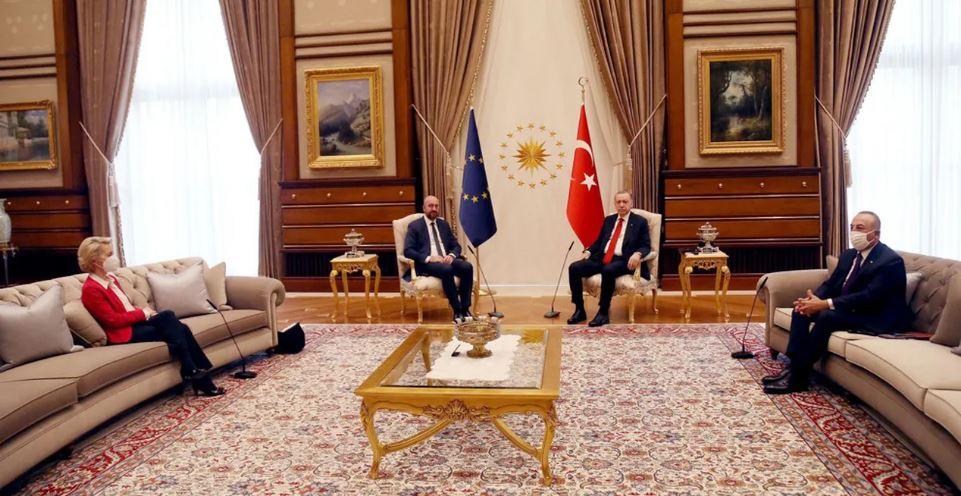 À sa façon, Erdogan a dit à Von der Leyen et Michel d'aller se faire enculer…