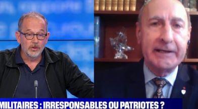 Thomas Legrand et Manon Aubry hurlent leur haine des militaires