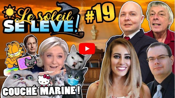 Le soleil se lève : Pierre Cassen avocat de Marine Le Pen ?