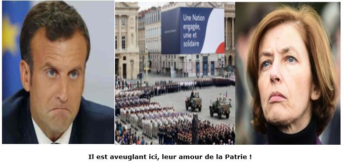 Macron-Parly vont-ils mettre 10 000 militaires aux arrêts?