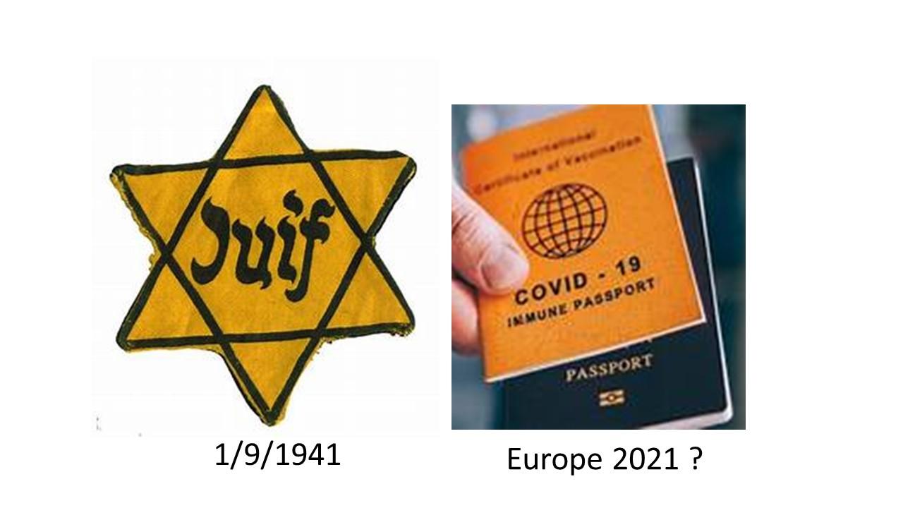 Stop à la dictature sanitaire, stop au passeport vaccinal!