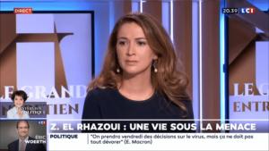 Décevante interview Rochebin : Zineb rentrerait-elle dans le rang ?