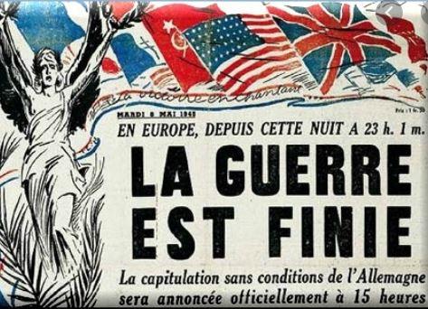 Le 8 mai: la France libérée par elle-même?