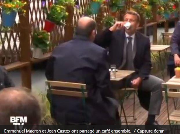Macron et Castex en terrasse : quelle indécence !