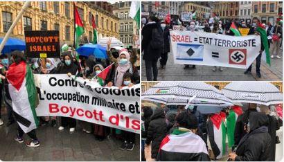 Manif Palestine interdite : la 5e colonne Allah akbar défie la France