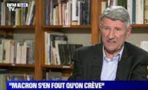 Philippe de Villiers sur BFM: ici on est en Macronie!