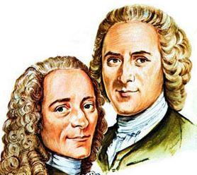 Déconstruisons la France avec Macron : Voltaire-Rousseau, deux trafiquants !