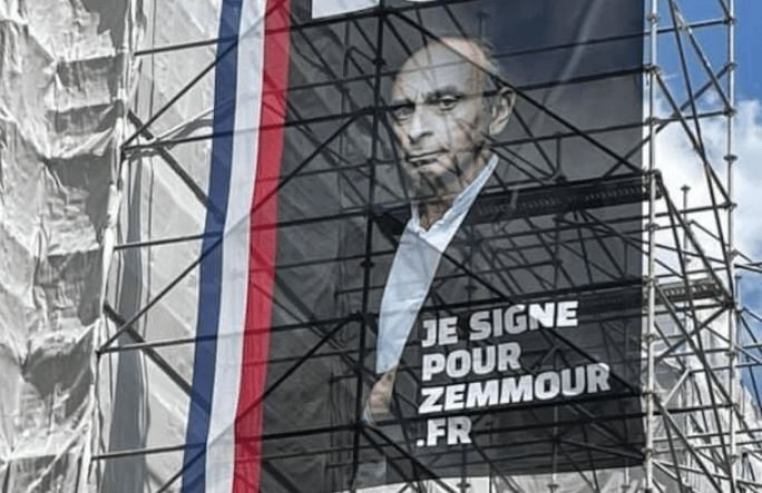 Je souhaite la candidature d'Éric Zemmour en 2022