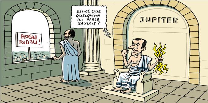 «Il y a de la violence dans la société»: Choupinet découvre l'eau chaude!