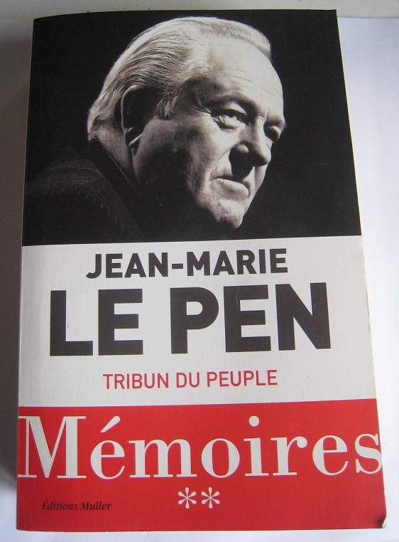 Tribun du peuple : encore merci, Jean-Marie Le Pen