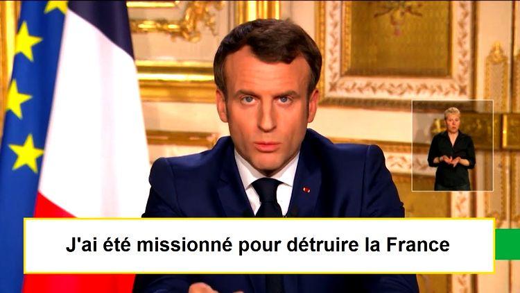 Vous serez tous responsables de la mort de la France et de vos enfants !