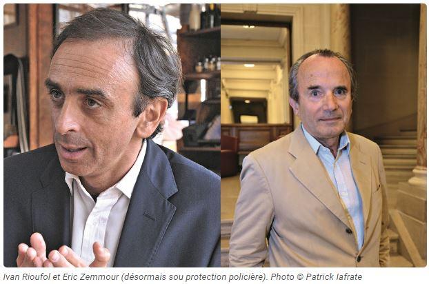 Islam : Vive les courageux Éric Zemmour et Ivan Rioufol !