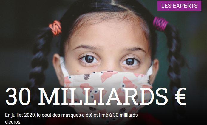 Coût de la stratégie anti-Covid appliquée aux enfants et adolescents en France