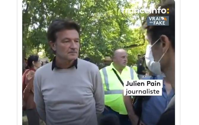 De quel côté est la désinformation : Julien Pain ou Richard Boutry ?