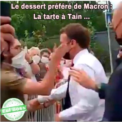 Macron giflé : j'ai encore la joue toute endolorie…